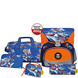 Школьный ранец DerDieDas для первоклассника с наполнением Схватка + нагрудный ремень в подарок