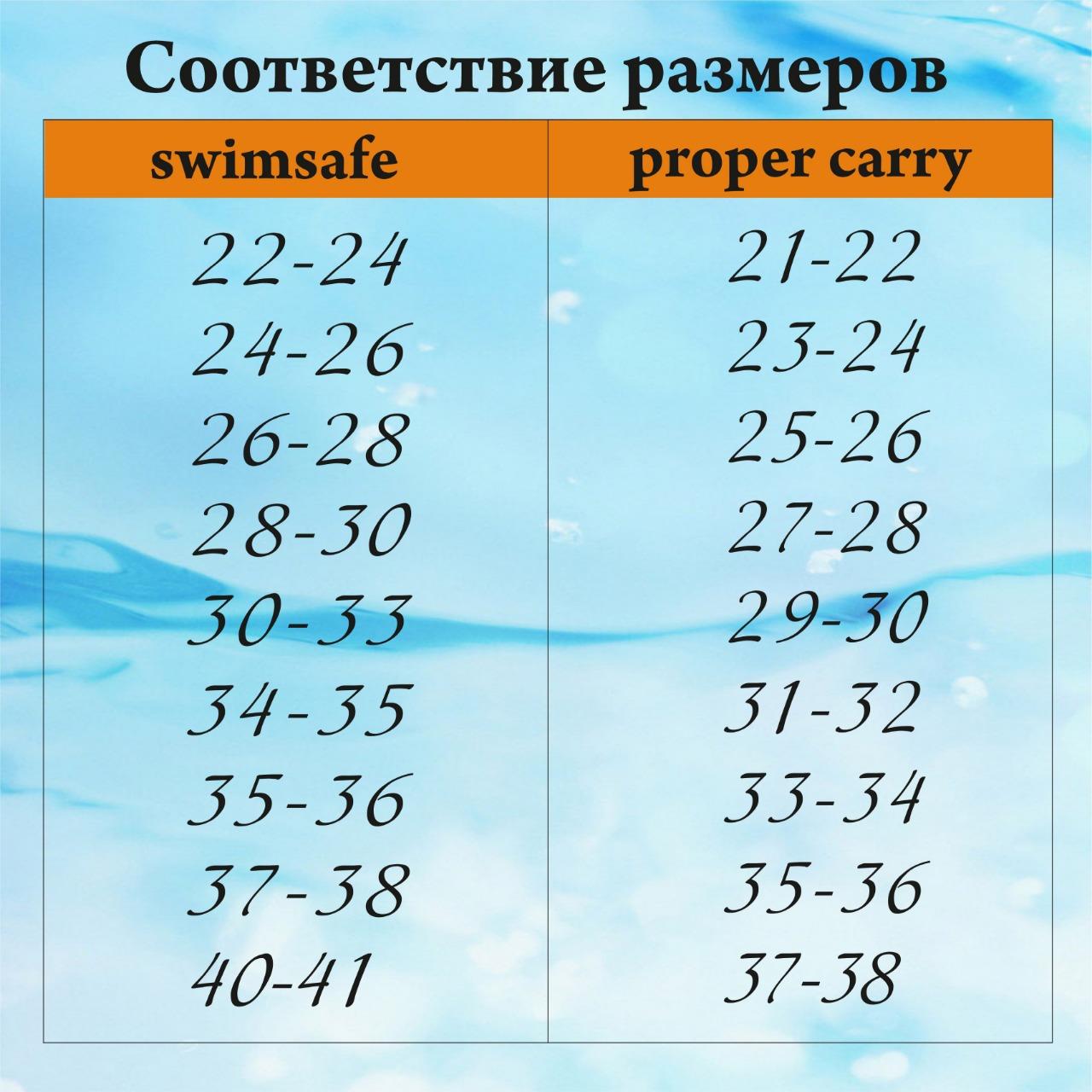 Детские ласты для плавания Proper-Carry Super Elastic р. 21-22, 23-24, 25-26, 27-28, 29-30, - фото 4