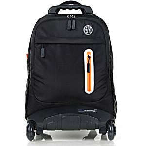 Школьный рюкзак на колесах – ранец Wheelpak Base Black – арт. WLP2176 (для 3-5 класса, 21 литр)